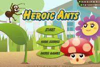 Bohaterskie mrówki
