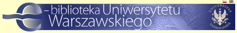 e-biblioteka Uniwersytetu Warszawskiego (e-bUW)